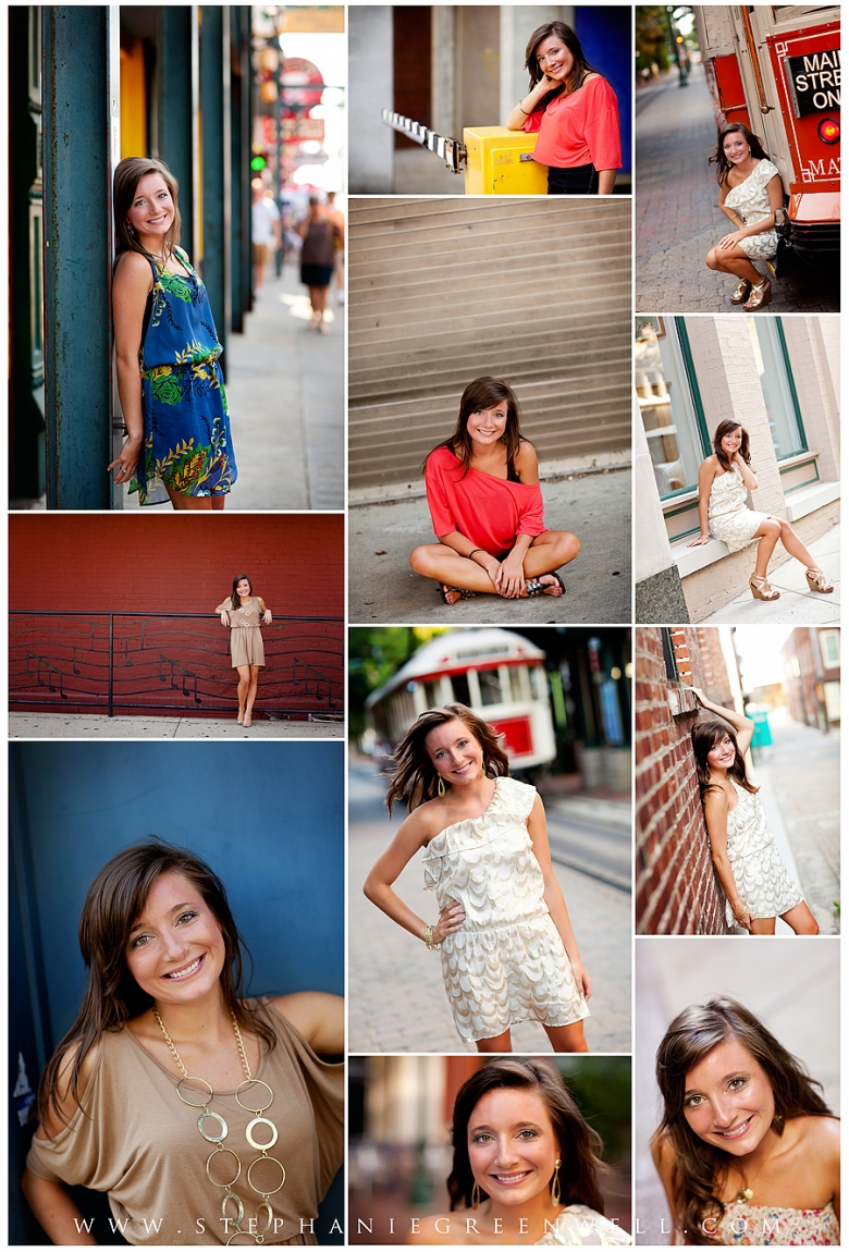 memphis tennessee beale street senior photography pictures stephanie greenwell