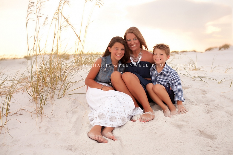 gatewood mom and children destin florida beach photography sand dunes stephanie greenwell photography