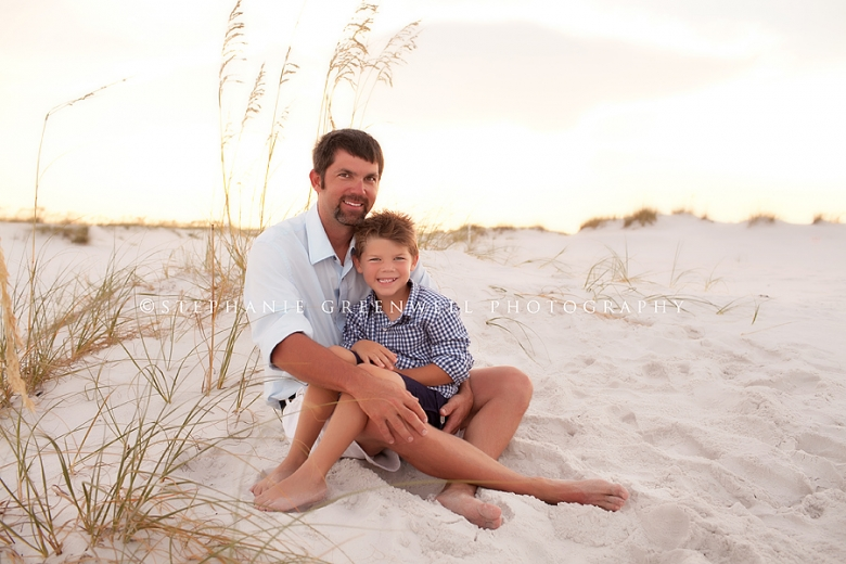 gatewood dad and son destin florida beach photography sand dunes stephanie greenwell photography