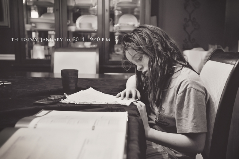 homework dining room girl photo a day southeast missouri photographer stephanie greenwell