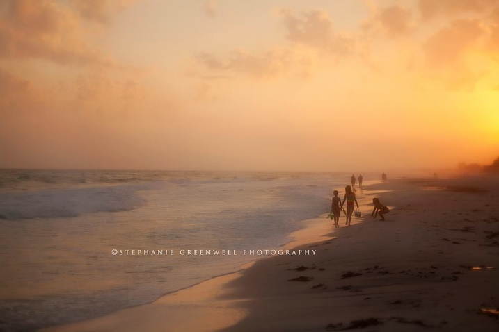 destin florida beach vacation sand crab hunting sunset southeast missouri photographer stephanie greenwell