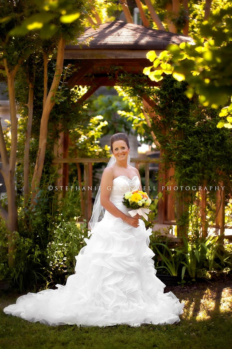 bridal field leslie cartee lannie gazebo southeast missouri wedding photographer stephanie greenwell
