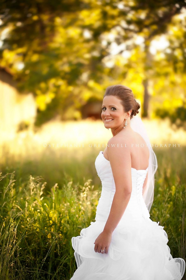 bridal field leslie cartee southeast missouri wedding photographer stephanie greenwell